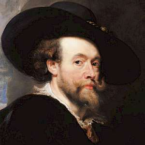 Portrait of the Artist (1623) by Peter Paul Rubens, in the Royal Collection, London (Photo courtesy of the Royal Collection)