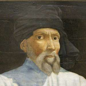 Portrait of Donatello by an unknown 16C artist, in the Louvre Museum, Paris (Photo by sailko)