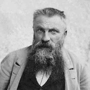 Photograph of Auguste Rodin c. 1898 by Dornac (Photo by Dornac)