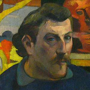 Self Portrait (1889) by Paul Gauguin, in the Musée d'Orsay, Paris (Photo courtesy of the Musée d
