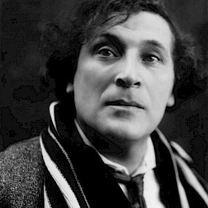 Photograph of Marc Chagall (1920) by Pierre Choumoff (Photo by Pierre Choumoff)