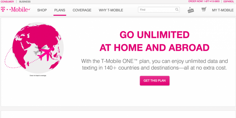 T-Mobile offers great plans for travelers, T-mobile, General (Photo courtesy of T-Mobile)