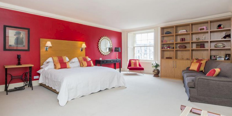 The Randolph Rooms B&B is in a classic Georgian crescent in Edinburgh's chic Princes Garden neighborhood, from £108 (Photo courtesy of the property)
