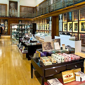 The Grenville Room, one of four shops at the British Museum (Photo courtesy of small back room, the shops