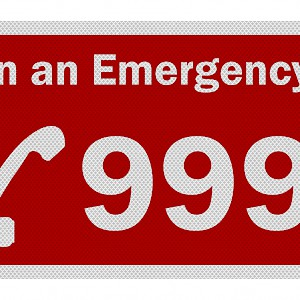 For emergencies in the U.K., dial 999 (Photo )