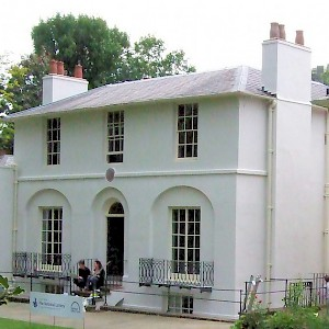 The Keats House Museum in Hampstead (Photo by Cj1340)