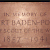 The memorial plaque for Lord Robert Baden-Powell, founder of the Boy Scouts, in Westminster Abbey, Westminster Abbey, London (Photo © 1982 by James G. Howes)