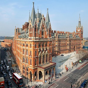 St. Pancras International train station (Photo courtesy of Marriott Renaissance)