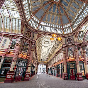 Leadenhall Market (Photo by Laurie Nevay)