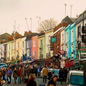 Portobello Road (Photo by Fred Bigio)
