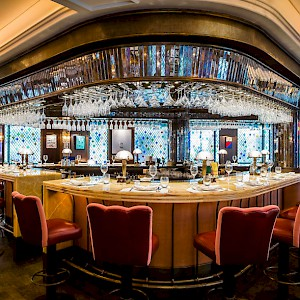 The bar at The Ivy (Photo courtesy of the restaurant)