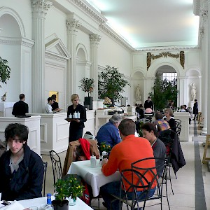 Afternoon tea at Kensington's Palace Orangery (Photo by Heather Cowper)