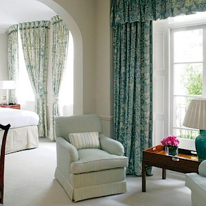 A room at Dukes Hotel, London (Photo courtesy of the hotel)