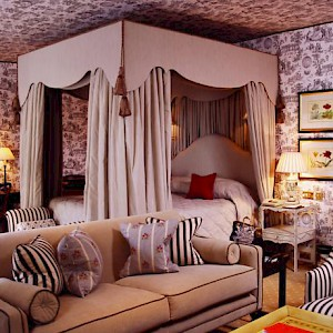 A room at The Stafford hotel (Photo courtesy of the hotel)