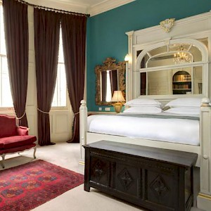 A room at The Gore hotel near Hyde Park (Photo courtesy of the hotel)