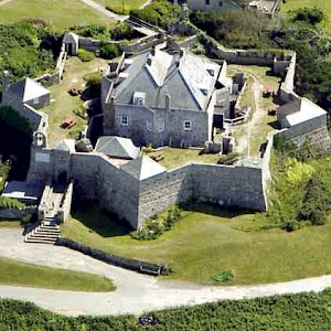 Star Castle Hotel, in an Elizabethan castle on the Isles of Scilly off the Cornwall Coast (Photo Courtesy of the hotel)