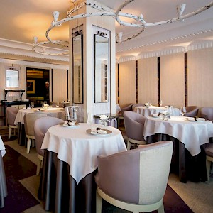 The dining room at Gordon Ramsey Restaurant (Photo courtesy of the restaurant)