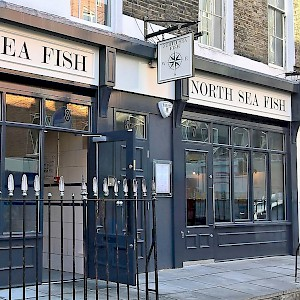 The North Sea Fish Restaurant (Photo courtesy of the restaruant)