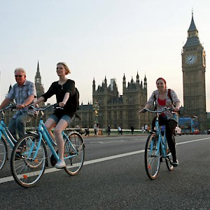 Bicycle tours of London (Photo courtesy of Viator.com)