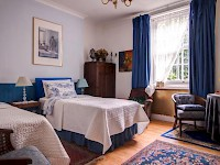A room at Dawson Place, Juliette's Guest House B&B, London