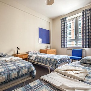 A room at the LSE Bankside dorm (Photo courtesy of the LSE)