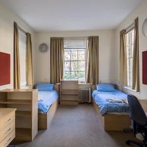 A room at the London School of Economics's Passfield Hall dorm near the British Museum (Photo courtesy of the LE)