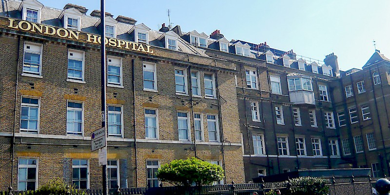 A London hospital (Photo by Herry Lawford)
