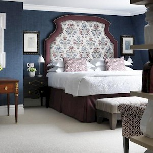 A room at the Charlotte Hotel (Photo courtesy of the hotel)