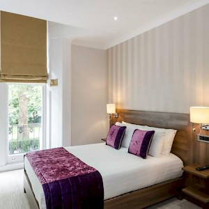 A room at the London House Hotel (Photo courtesy of the hotel)