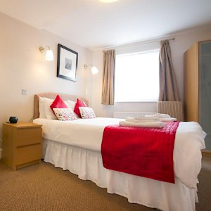 A room at the Innkeeper's Lodge London, Greenwich (Photo courtesy of the hotel)