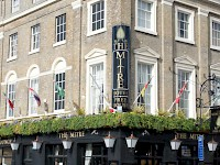 The Mitre Pub, home to the Innkeeper's Lodge London, Greenwich