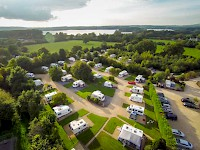 The campground at Bath Chew Valley in Somerset