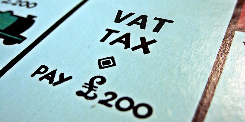 VAT is the built-in national sales tax in the U.K. (Photo altered from Images Money)