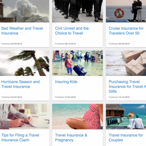 Shop for travel insurance with a comparison site like InsureMyTrip or SmartMouth (Photo courtesy of InsureMyTrip.com)