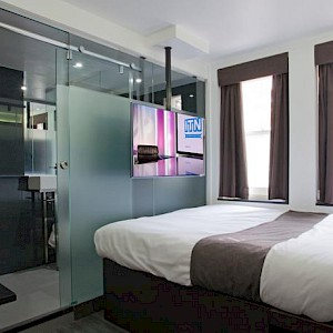 A room at The Z Hotel Soho (Photo courtesy of the hotel)