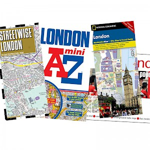 London maps (Photo courtesy of the publishers)