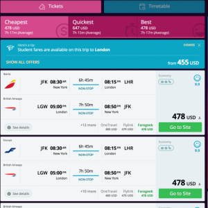 An aggregator like Momondo.com can help you find the lowest airfares every time (Photo courtesy of Momondo.com)