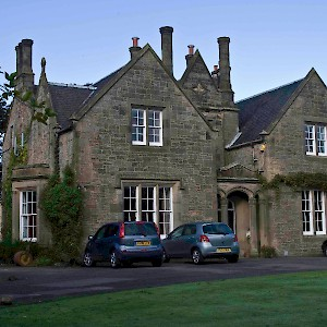 This country house on 2.5 acres in the Edinburgh suburbs was free to anyone willing to feed and walk their two dogs for a week (Photo courtesy of Mindmyhouse.com)