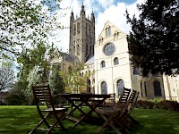 Canterbury Cathedral Lodge has the best location of any lodgings in Canterbury