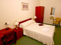 A double room at the Penn Club, a Quaker hospice in London