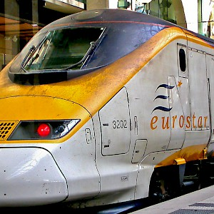 The Eurostar train (Photo © Reid Bramblett)