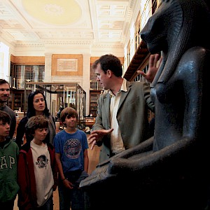 A family tour of the British Museum (Photo courtesy of Context Travel)