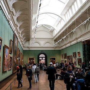 The National Gallery in London (Photo by Alex)