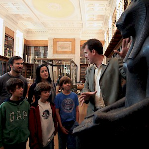 A tour of the British Museum (Photo courtesy of Context Travel)