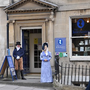 The Jane Austen Centre (Photo by Brent Pliskow)