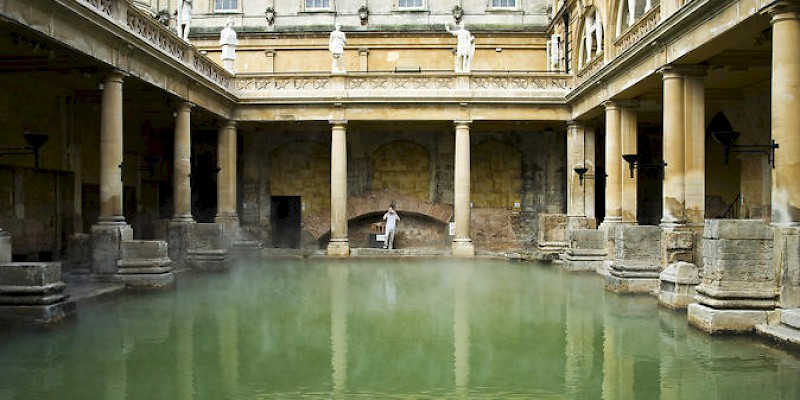 Visit the Roman Baths on a guided walk in Bath (Photo courtesy of Viator)