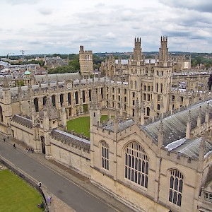 All Souls College in Oxford (Photo © Reid Bramblett)