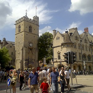 Carfax Tower on Cornmarket (Photo by ozeye)