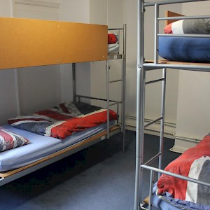 A dorm room (Photo courtesy of the hostel)
