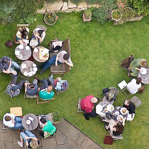 The Vaults & Garden Cafe from above (Photo © Reid Bramblett)